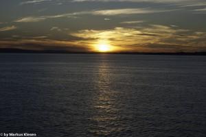 Sonnenuntergang auf dem Bodensee
